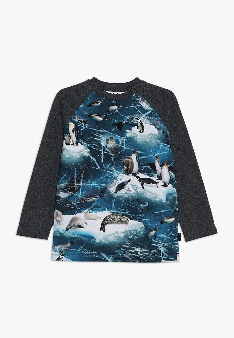 Molo - REMINGTON - Pitkähihainen paita - blue/mottled dark grey