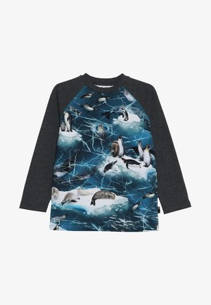 REMINGTON - Långärmad tröja - blue/mottled dark grey
