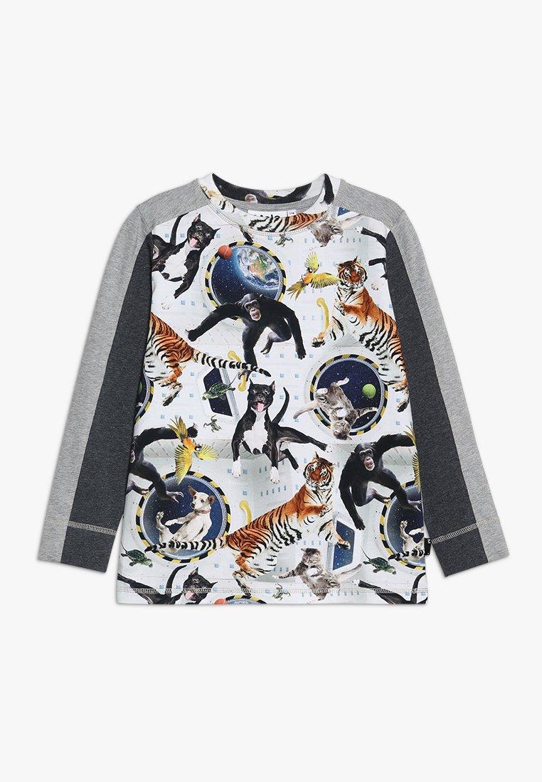 Molo - RASO - T-shirt à manches longues - multicolor/mottled grey
