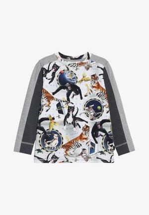 RASO - Långärmad tröja - multicolor/mottled grey