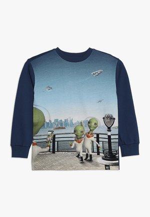 RISCI - T-shirt à manches longues - light blue