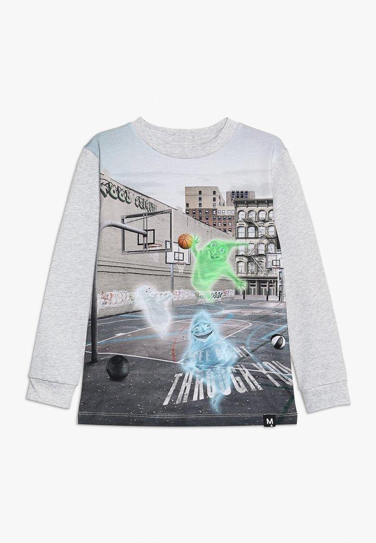 Molo - RENZI - Langærmede T-shirts - mottled grey