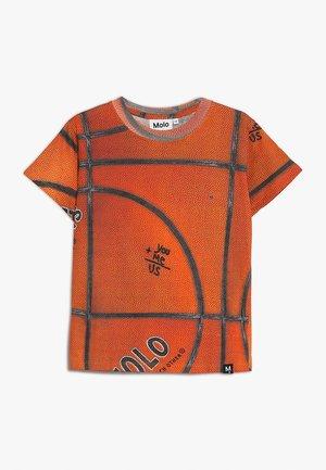 ROAD - T-shirt imprimé - orange