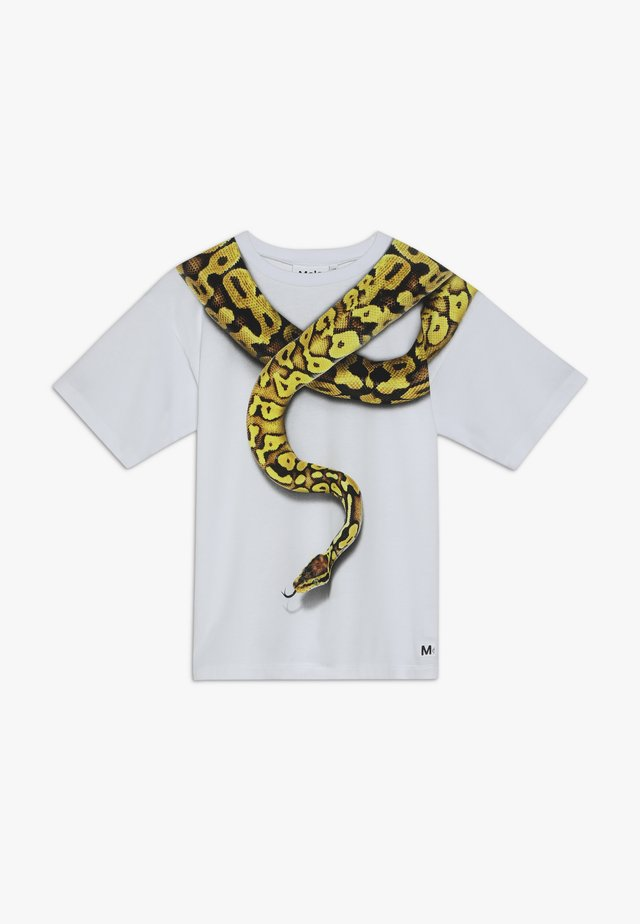 RILLO  - T-shirt med print - white