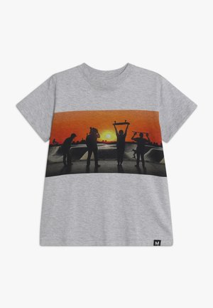 ROAD - T-shirt imprimé - grey