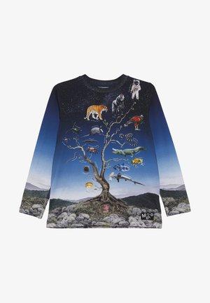 REIF - T-shirt à manches longues - dark blue/blue