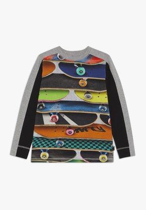 RASO - T-shirt à manches longues - grey melange