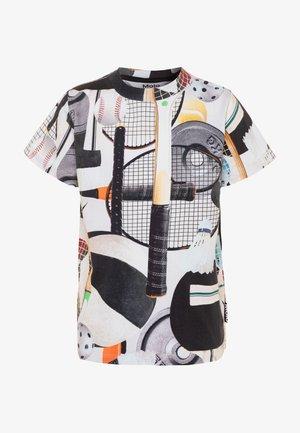 ROAD - Print T-shirt - white