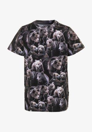 RALPHIE - Camiseta estampada - black