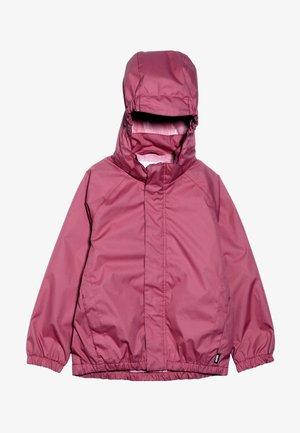 WAITON - Waterproof jacket - holly berry