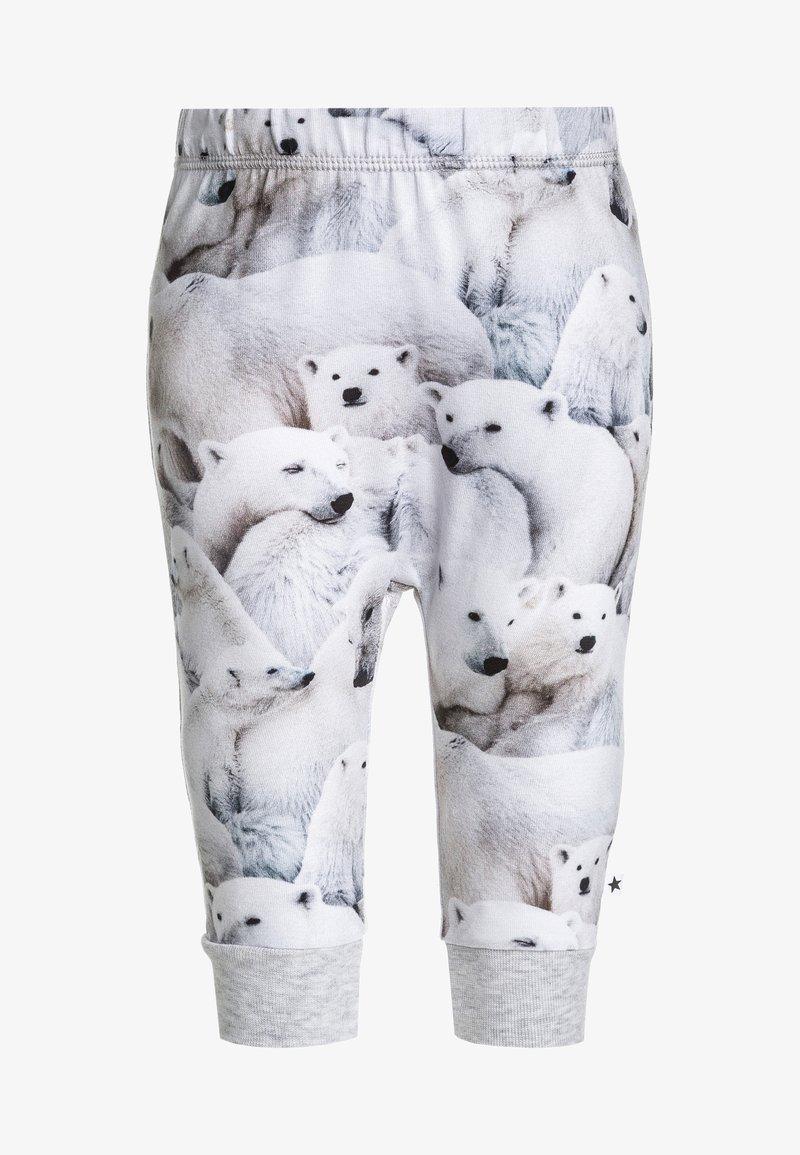 Molo - SIMONE SOFT PANTS BABY - Broek - white