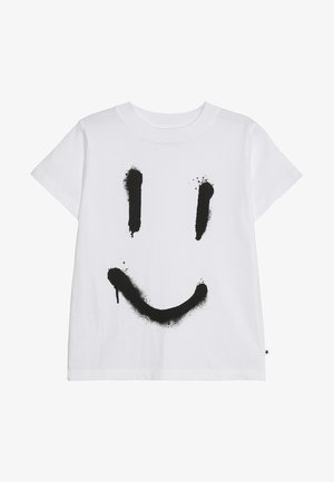 REEVE - Print T-shirt - white