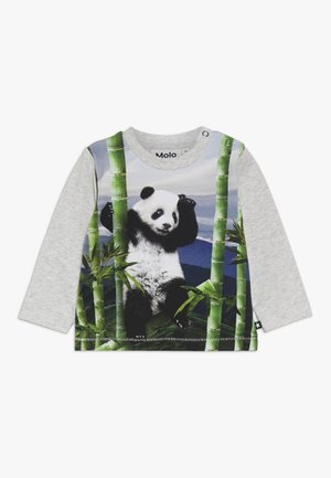 ENOVAN - Langærmede T-shirts - grey