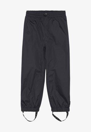 WAITS - Kalhoty do deště - black