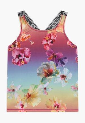 ORIANA - Koszulka sportowa - hibiscus rainbow