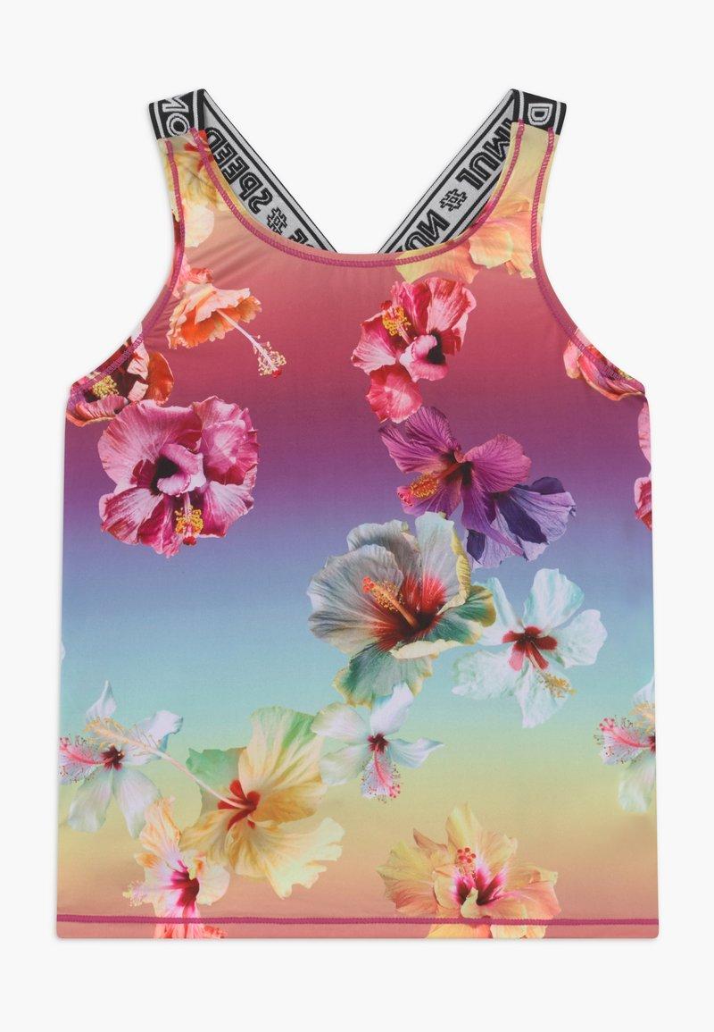 Molo - ORIANA - Sports shirt - hibiscus rainbow