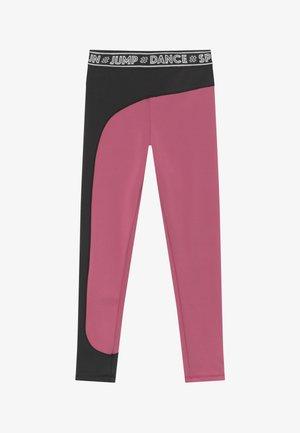 OLYMPIA - Legging - pink/black