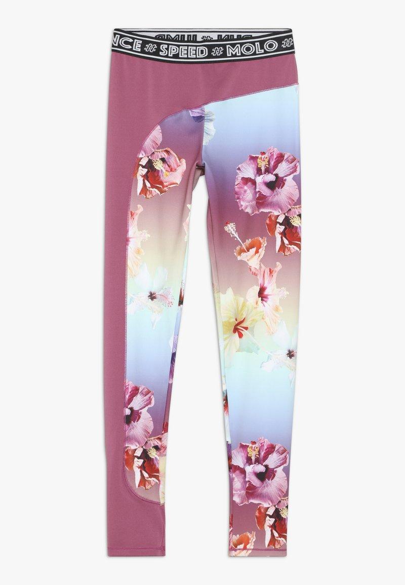 Molo - OLYMPIA - Leggings - hibiscus rainbow