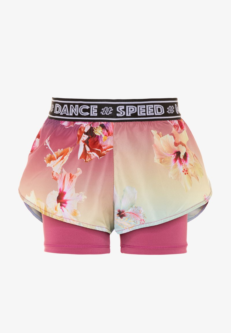 Molo - OMARI - Leggings - hibiscus rainbow