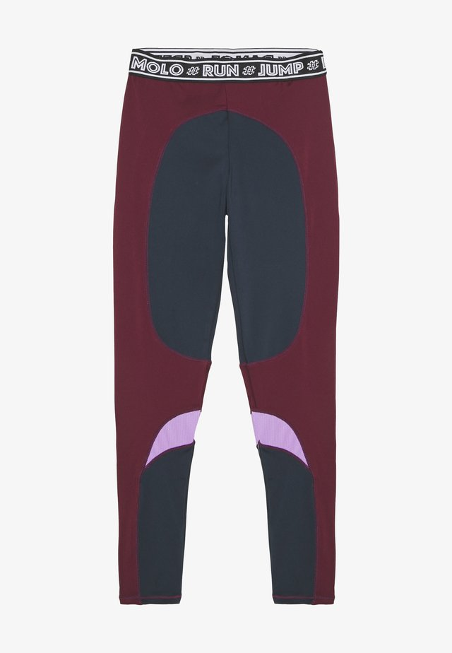 OLYSSIA - Tights - bordeaux, dark blue