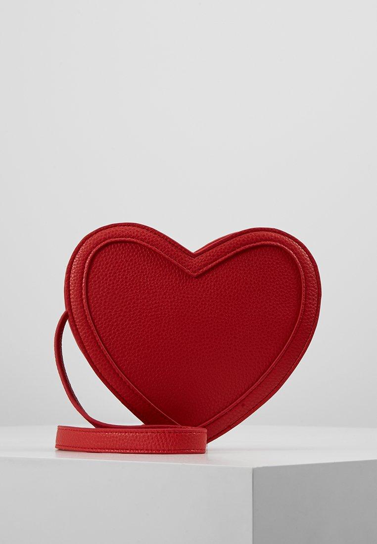 Molo - HEART BAG - Skulderveske - red