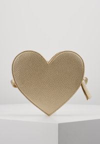 Molo - HEART BAG - Across body bag - gold - 3
