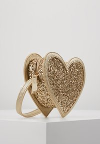 Molo - HEART BAG - Across body bag - gold - 4