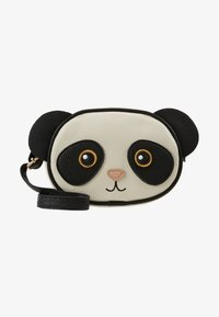 Molo - PANDA BAG - Across body bag - black/white - 1