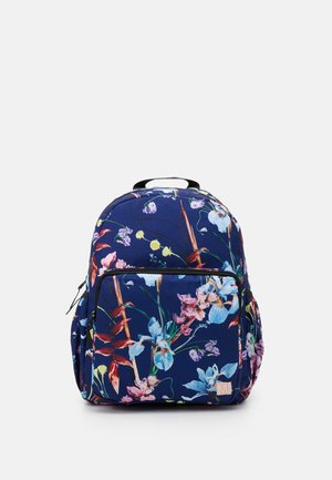 BIG BACKPACK - Reppu - ikebana blue