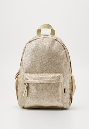 GLITTER BAG - Reppu - gold