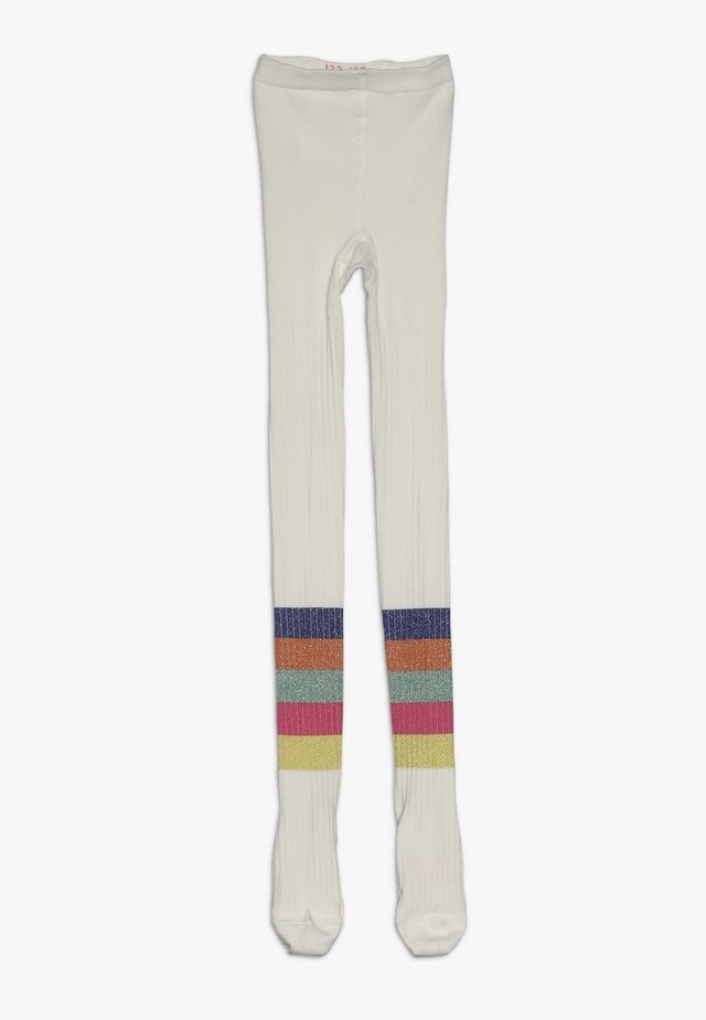 RAINBOW TIGHTS - Tights - off white