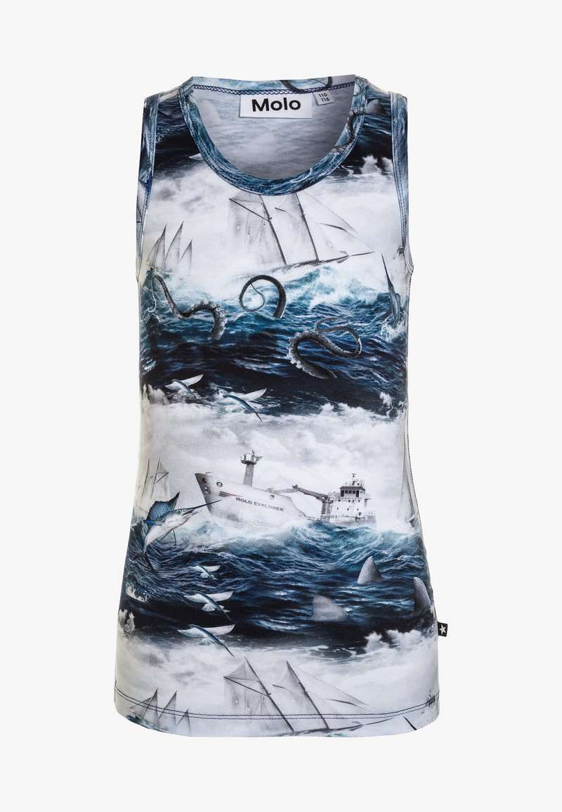 Molo - JIM - Unterhemd/-shirt - blue