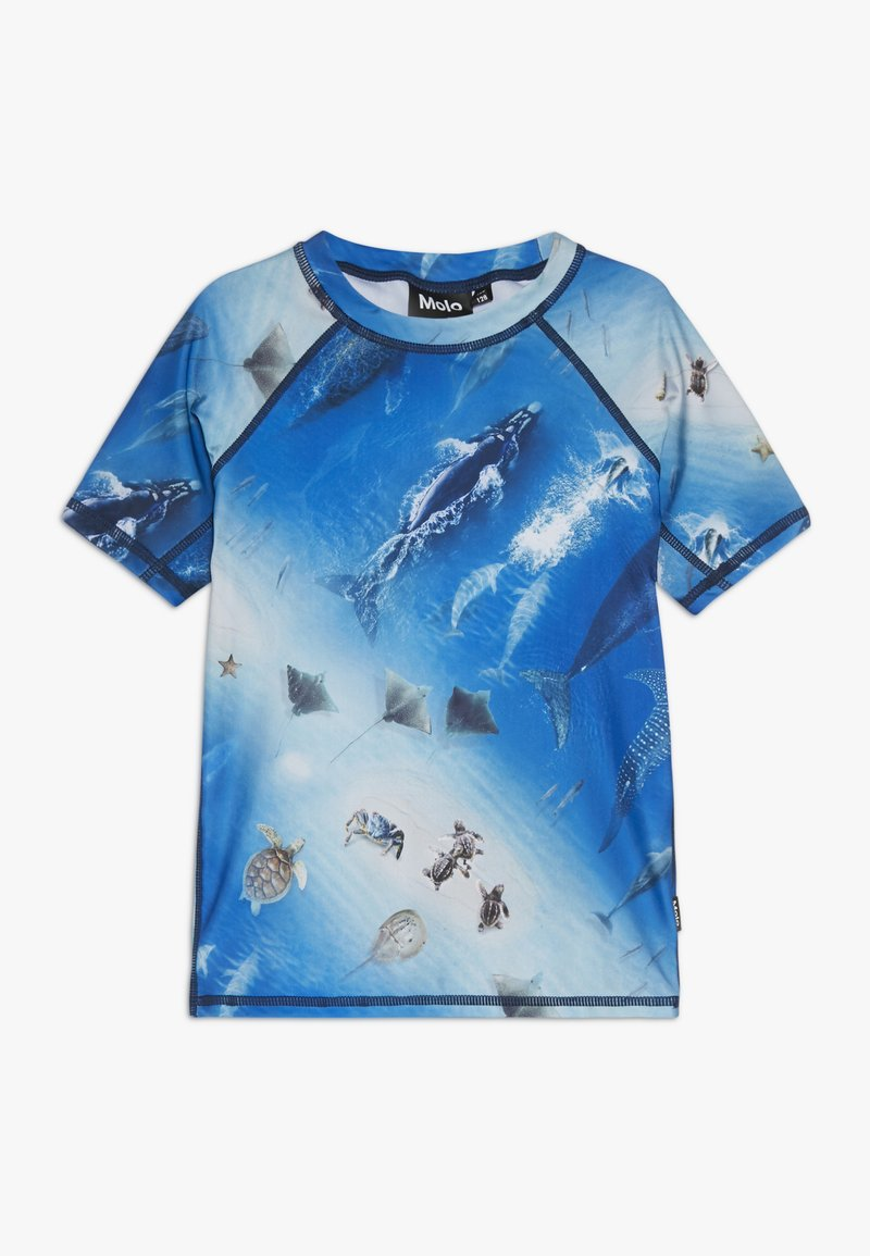 Molo - NEPTUNE - Surfshirt - blue