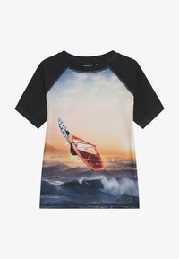 Molo - NEPTUNE - Surfshirt - black/multi-coloured - 2