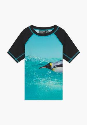 NEPTUNE - Surfshirt - black/blue