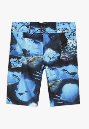 NALVARO - Shorts da mare - blue