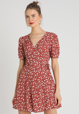 SHADY DAYS TEA DRESS - Robe d'été - rust