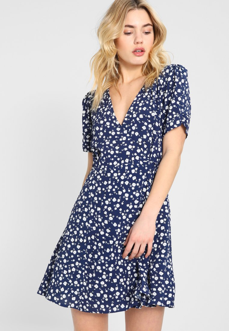 MINKPINK - SHADY DAYS TEA DRESS - Freizeitkleid - blau
