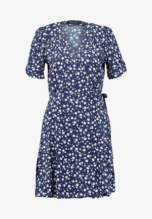 SHADY DAYS TEA DRESS - Kjole - blau