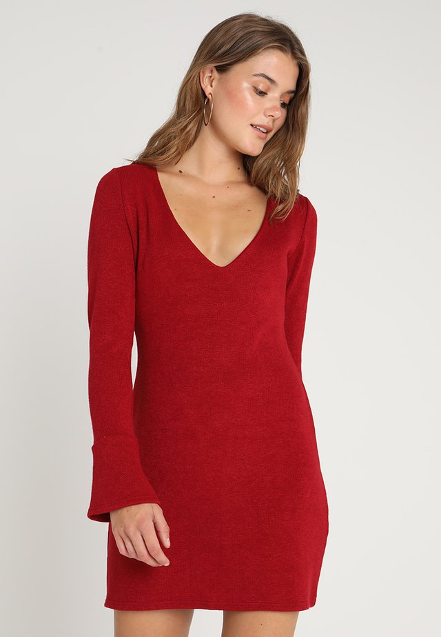 SWEETNESS DRESS - Jumper dress - wine