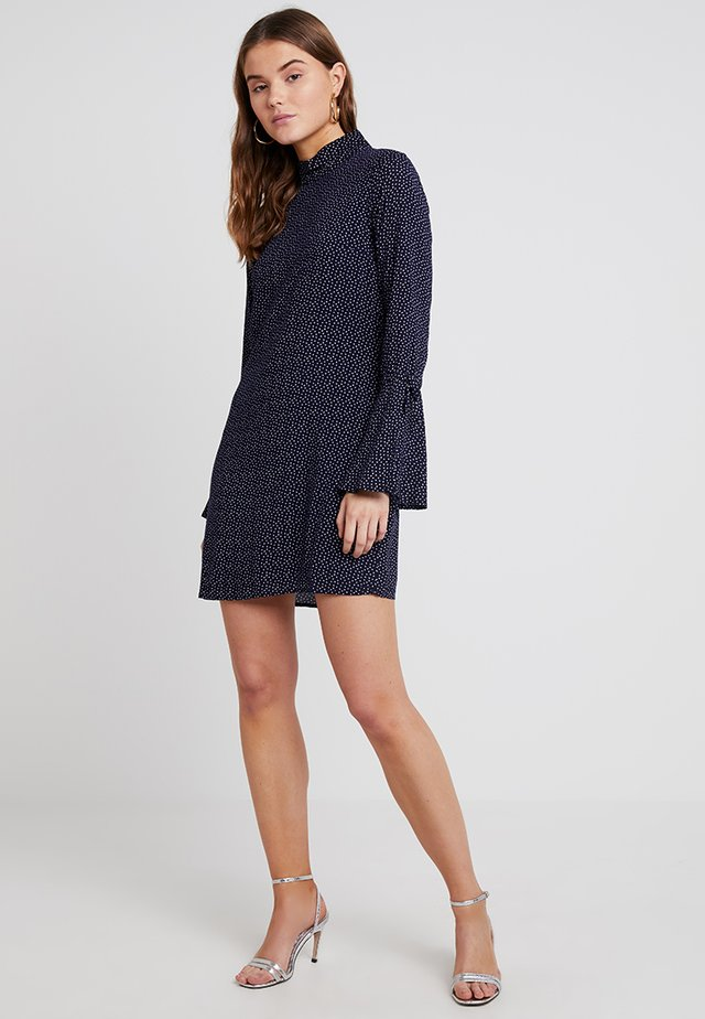 ANNA DRESS - Vardagsklänning - blue/white