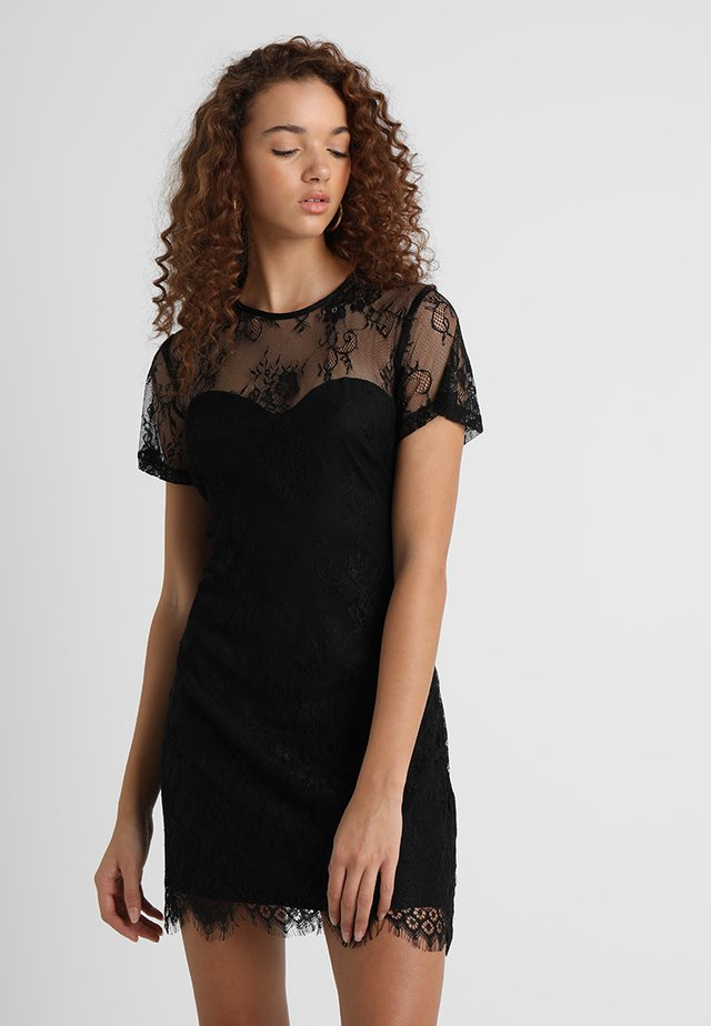 SECRET ROMANCE DRESS - Cocktailjurk - black