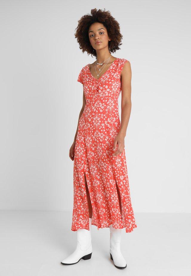 DELILAH DRESS - Day dress - grapefruit