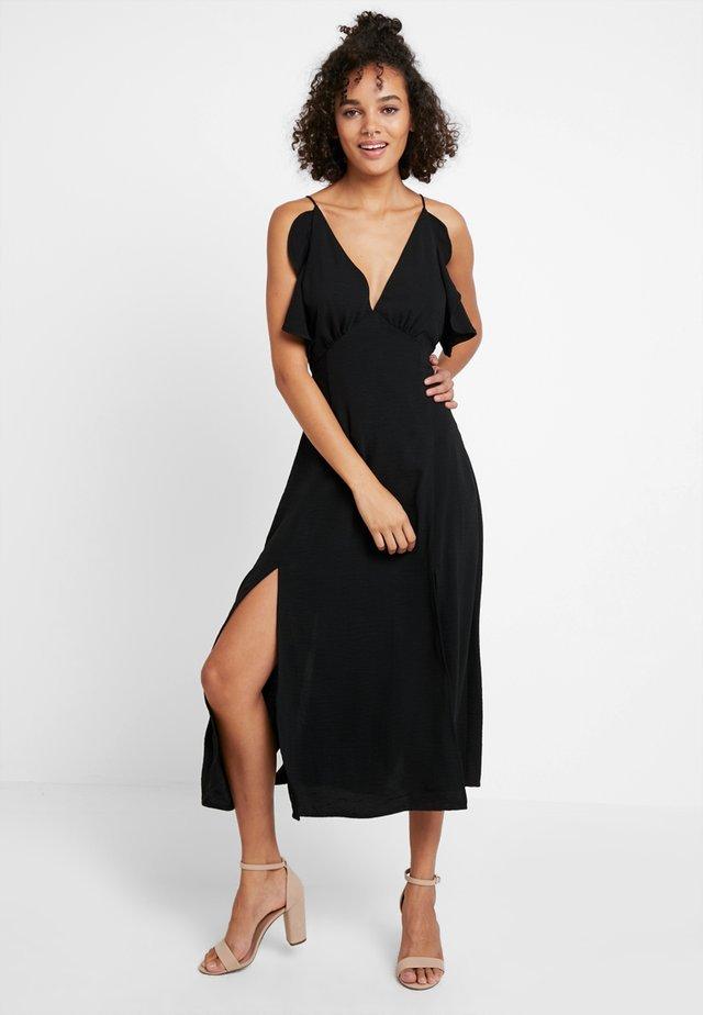 VERA DRESS - Maxikleid - black