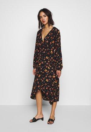 PRINT DRESS - Denní šaty - yellow