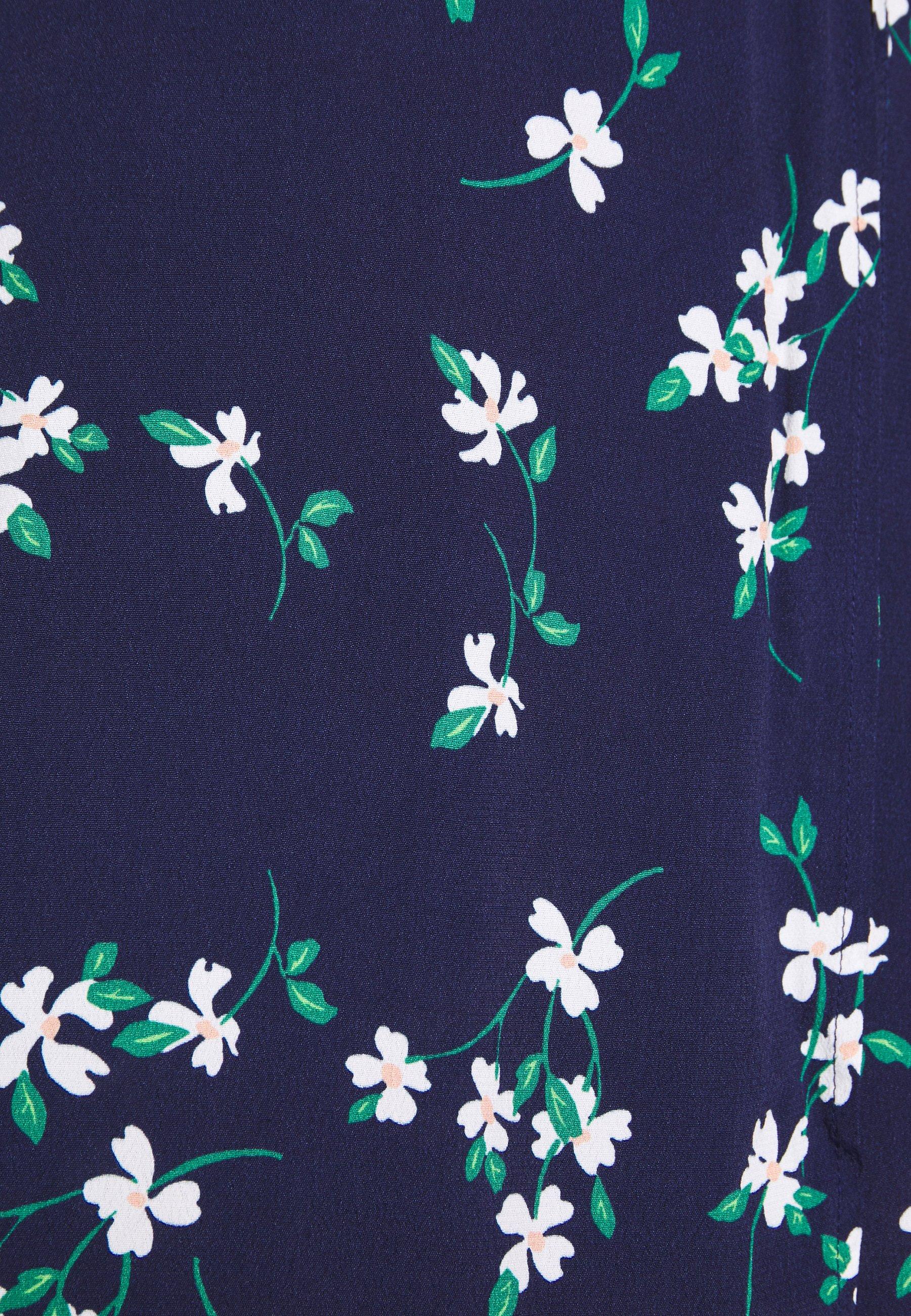 Minkpink Floral - Robe D'été Blue/white