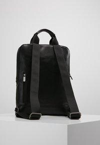 Moleskine - CLASSIC DEVICE BAG VERT - Batoh - black - 2