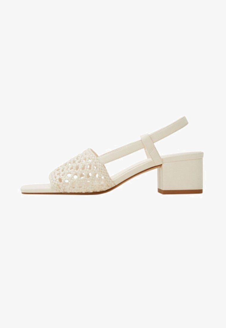 Mango - GALLURA - Sandals - off-white