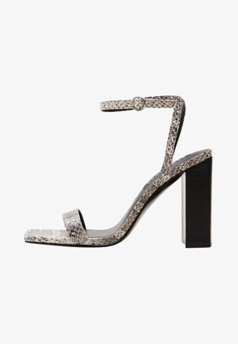 Mango - RINA - Korolliset sandaalit - gray