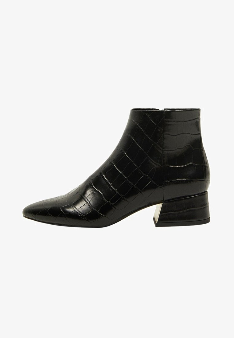 Mango - DAY - Classic ankle boots - black